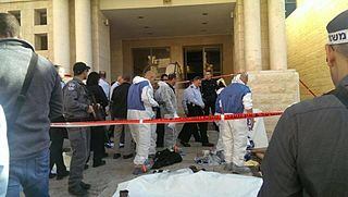 2014 Jerusalem synagogue attack Incident in the Israeli–Palestinian conflict