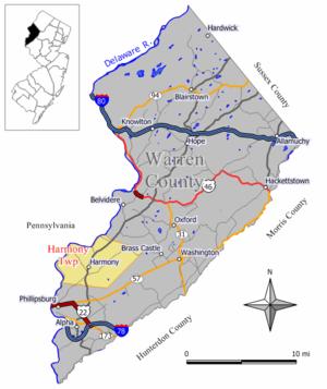 Harmony Township, New Jersey - Image: Harmony twp nj