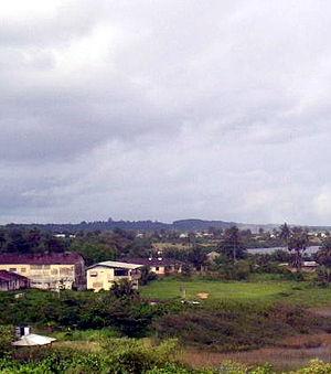 Harper, Liberia - Harper in 2004