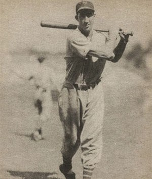 Harry Danning - Image: Harry Danning 1940 Play Ball card