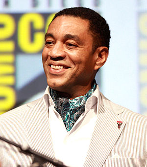 Harry Lennix - Lennix at the San Diego Comic-Con International, 2013