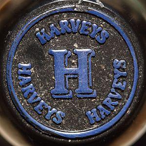 John Harvey & Sons - The cap of a bottle of Bristol Cream