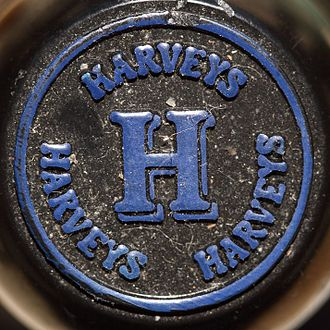 John Harvey & Sons - The cap of a bottle of Bristol Cream
