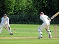 Hatfield Heath CC v. Netteswell CC on Hatfield Heath village green, Essex, England 07.jpg