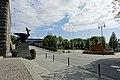 Haugesund rådhus Rådhuset City Hall Ørner Eagles Dyre Vaa Lamp etc Skåregata Fontene Nils Flakstad Rådhusplassen Rådhusparken Norway 2020-06-09 00136.jpg