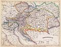 Hauptmann Carl Christian Franz Radesfeld - Politische Karte des Kaisertums Österreich um 1849.jpeg