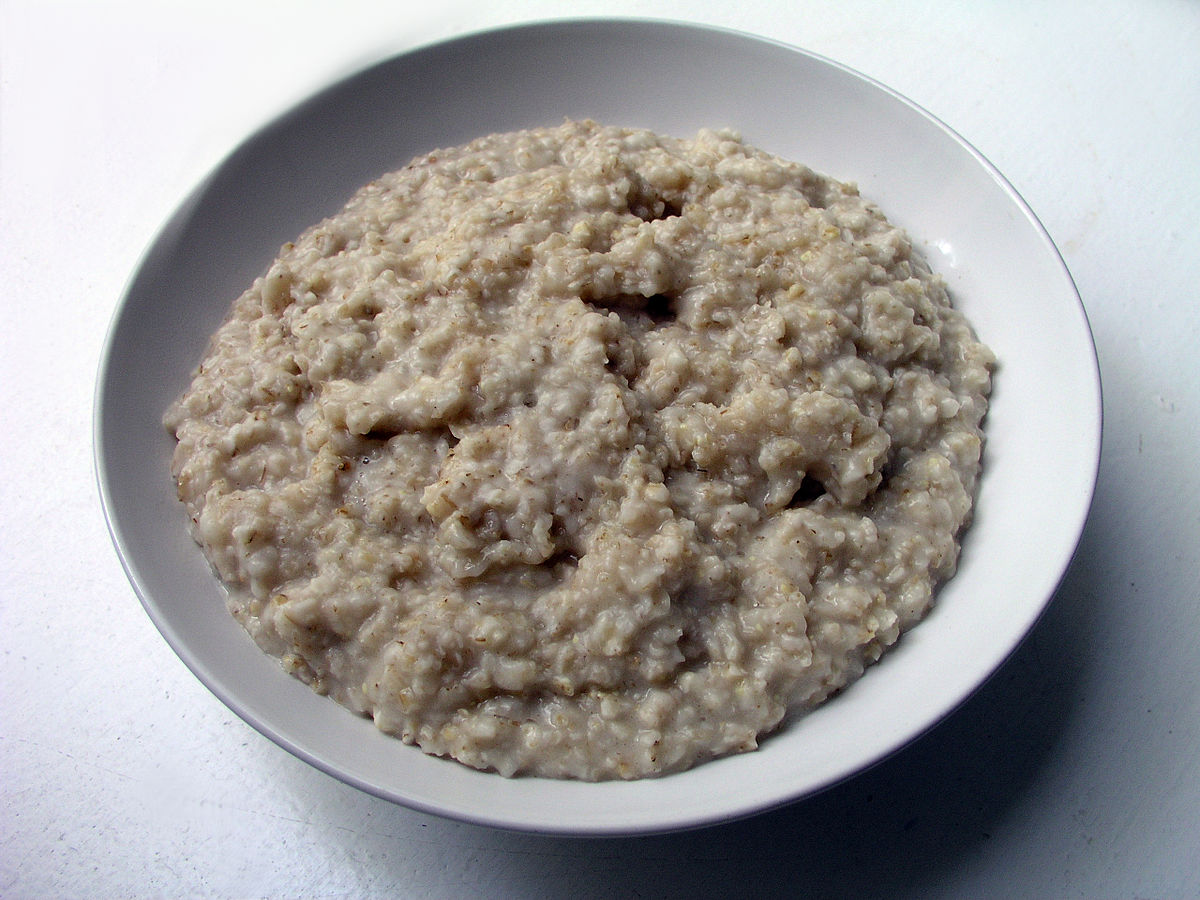 About military porridge and bread