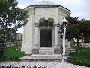 Hayme Hatun - Closer view of the mausoleum of Hayme Ana