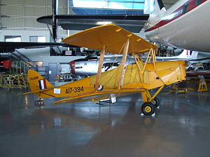 De Havilland Australia - A Tiger Moth owned by Hawker de Havilland and flown as an historic aircraft