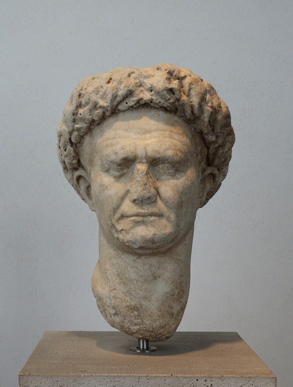 Head of Vespasianus in Palazzo Massimo (Rome)