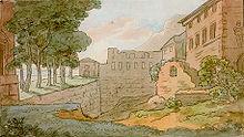 L'acquerello di Goethe.