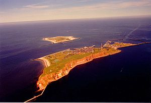Helgoland (Bruckner) - A bird's-eye view of the island of Heligoland
