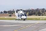 Helicorp (VH-TJH) Leonardo-Finmeccanica AW139 at Wagga Wagga Airport.jpg