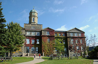 Dalhousie University - Henry Hicks Academic Administration Building is located at Dalhousie's Studley Campus, and houses many of Dalhousie's administrative offices.
