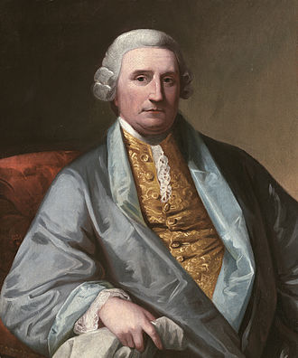 Henry Middleton - Possible portrait by Benjamin West, circa 1771