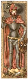 Henryk II Pobożny tomb effigy