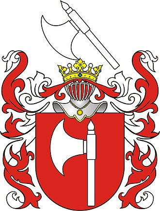 Vršovci - Polish Oksza coat of arms