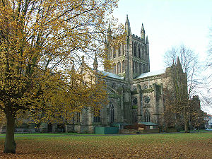 Fantasia on Christmas Carols - The Fantasia on Christmas Carols was first performed at Hereford Cathedral in 1912.