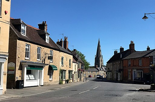 High Street South in Olney (geograph 5820494)