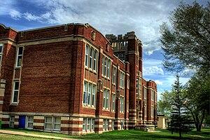 Highlands, Edmonton - Highlands Junior High School