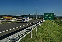 Highway A4 Croatia Novi Marof.jpg