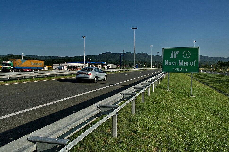 Highway A4 Croatia Novi Marof