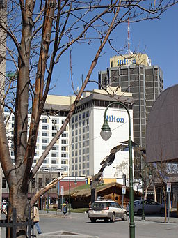 Hilton hotel downtown Anchorage Alaska 191