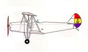 Hispano-Suiza E-34 - Hispano-Suiza E-34 in ''Aeronáutica Naval'' markings