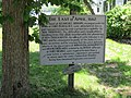 Historical Marker, Native American Battle, Castine, Maine.jpg