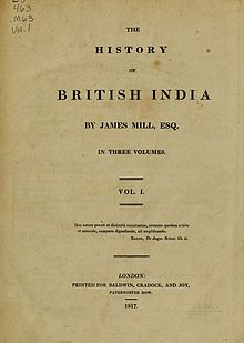History of British India 1817 James Mill.jpg
