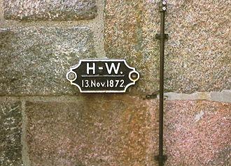 1872 Baltic Sea flood - Image: Hochwasser Travemünde