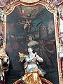 Hofkirchen Pfarrkirche - Barbara-Altar Altarbild 1.jpg