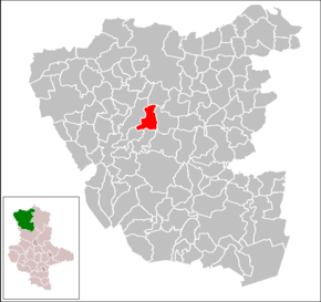 Location of Hohentramm within Altmarkkreis Salzwedel