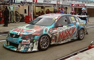 Greg Murphy - The Holden VE Commodore of Greg Murphy at the 2011 Clipsal 500 Adelaide
