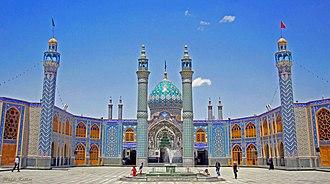 Aran o Bidgol - Holy shrine of Imamzadeh Helal Ali in Aran va Bidgol