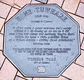 Hone Tuwhare memorial plaque in Dunedin.jpg