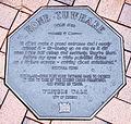 Hone Tuwhare memorial plaque in Dunedin.jpg