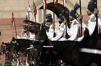 President of India - Image: Honour guard, India 20060302 9 d 0108 2 515h