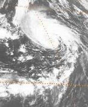 1978 Atlantic hurricane season - Image: Hope 1978091815GOES2VS