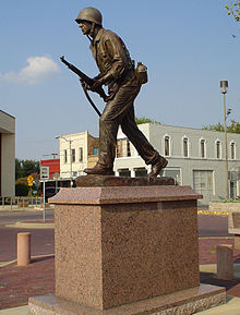 Hopkins county texas vietnam war memorial.jpg