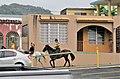 Horse-back riding in Ciales barrio-pueblo, Puerto Rico.jpg
