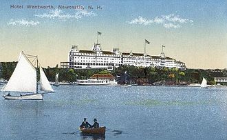 Wentworth by the Sea - The Hotel Wentworth in 1906