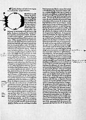 Rabanus Maurus: De rerum naturis (early print)