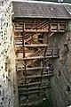 Hrad Rabí s hradním kostelem Nejsvětější Trojice, část stojící, část zřícenina a archeologické stopy (Rabí) (15).jpg