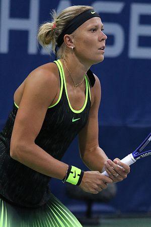 Lucie Hradecká - Hradecká at the 2016 US Open