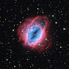 Hubble pozoruje zářící, ohnivé granáty plynu.jpg