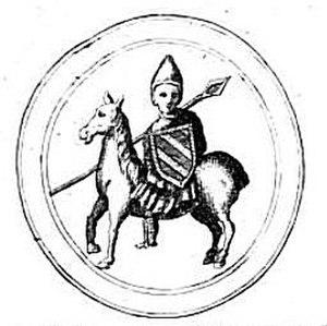 Hugh II, Duke of Burgundy - Seal of Hugh II of Burgundy