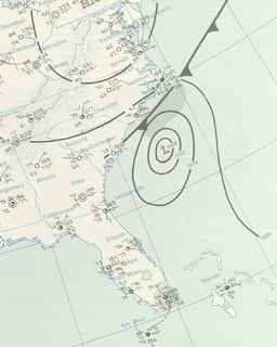 Hurricane Cindy (1959) Category 1 Atlantic hurricane in 1959