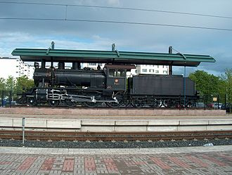 Kerava - Image: Hv 3 Locomotive number 781 Vanha veturi H3794 C