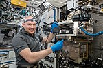 ISS-57 Alexander Gerst works in the Destiny lab (3).jpg